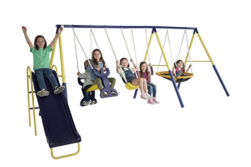 Sportspower Super Star Swing & Slide Set...