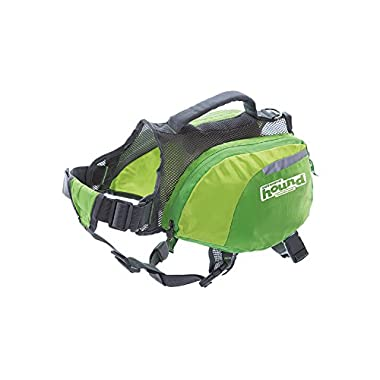 Outward Hound Daypak Dog Backpack Hiking Gear For Dogs by, Large, Green