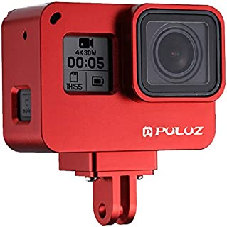 2018 No Need to Remove Lens // HERO7 Black //6//5 Back Cover 30m Waterproof Housing Protective Case with Buckle Basic Mount /& Screw XHC Protective Case 2 in 1 for GoPro Hero