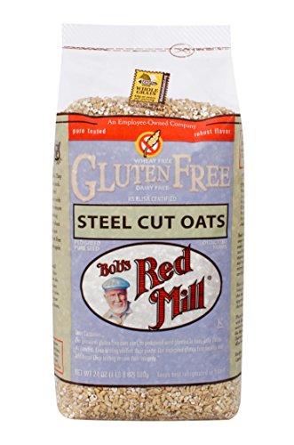 Bob's Red Mill Gluten Free Steel Cut Oats, 24 Oz (4 Pack)