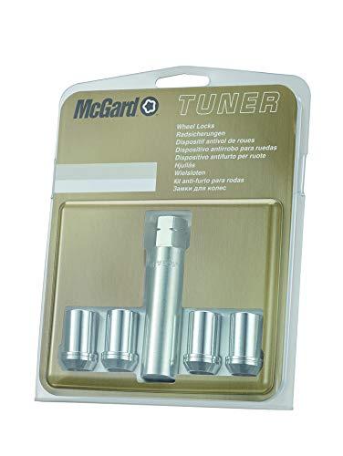 AUTOSTYLE 25254SU McGard Hex/Tuner Set de écrous Anti-vol M12x1.25-Conique-Longueur 21mm