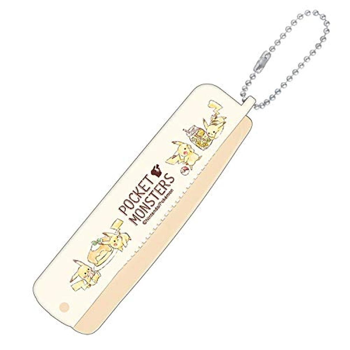 ロデオチップ光の【ポケットモンスター】折りブラシ&コーム(カフェ) 099049