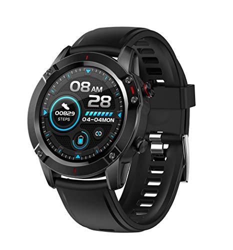 ACECYCLE Fitness Tracker Smartwatch con Monitor de frecuencia cardíaca, Monitor de presión Arterial Monitor de sueño recordatorio de Mensajes(G20)