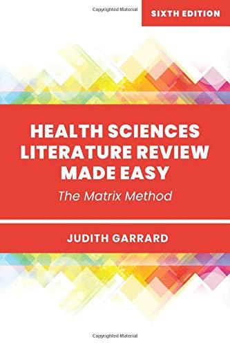 Health Sciences Literature Revie...