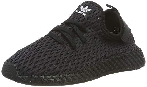 adidas Unisex-Kinder Deerupt Runner Fitnessschuhe, Schwarz (Negro 000), 23 EU