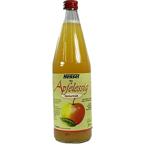 HENSEL Apfelessig naturtrüb Bio 750 ml