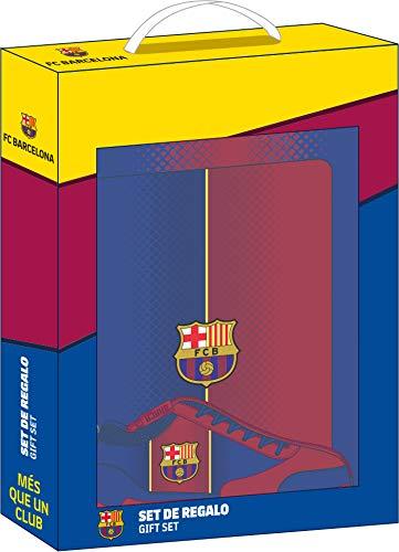 Set de Regalo de F.C. Barcelona 1ª Equipación 20/21, 280x60x350mm