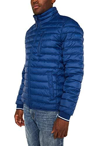 ESPRIT Herren 129EE2G006 Jacke, Blau (Blue 430), Medium (Herstellergröße: M)