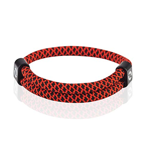 Paracord Bracelet for Beach | Gift for Him | Red Color 1