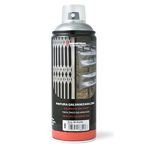 Spray industrial GALVANIZADO EN FRIO (ZINC MATE 98%) 400 ML