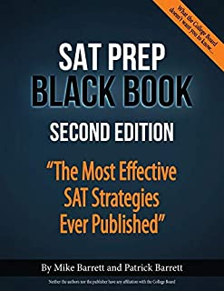 SAT Prep Black Book: The Most Effective SAT Strategies Ever Published (0692916164)   Amazon price tracker / tracking, Amazon price history charts, Amazon price watches, Amazon price drop alerts