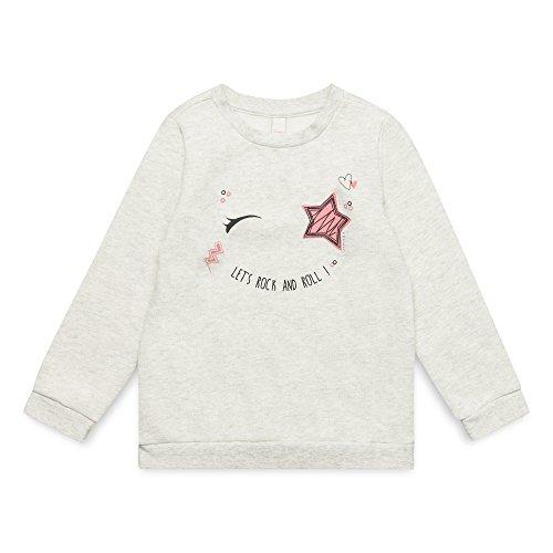 ESPRIT KIDS ESPRIT KIDS Mädchen RM1500307 Sweatshirt, Weiß (Heather Cream 114), Herstellergröße: 116+