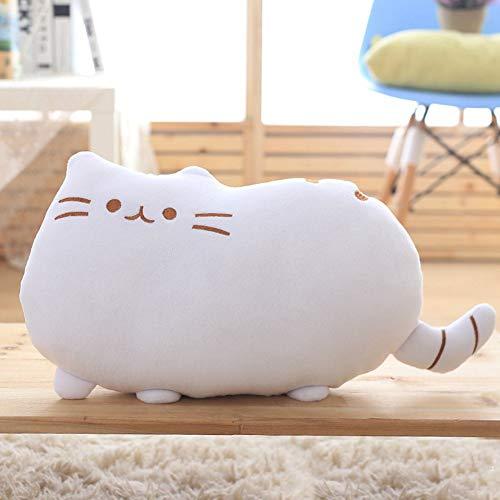 AMA-StarUK36 Kawaii Katze Weichem Plüsch Kissen Form Kissen kissenpolster Sofa Spielzeug Wohnkultur(H05)