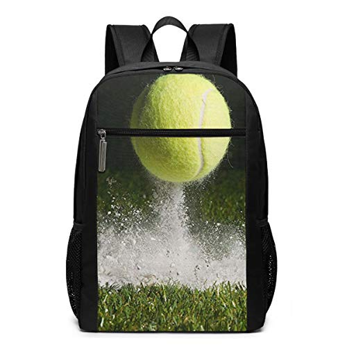 Schulrucksack Tennis Rasenplatz Wimbledon In, Schultaschen Teenager Rucksack Schultasche Schulrucksäcke Backpack für Damen Herren Junge Mädchen 15,6 Zoll Notebook