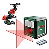 Bosch Cross Line Laser - Quigo 3 (Range 10 meters, delivered with MM2 clamp)