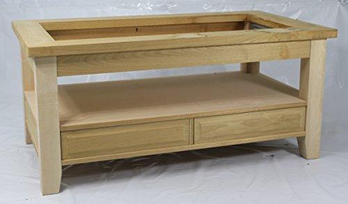 ojemar international Tavolino da Salotto in Legno di Castagno