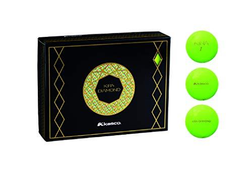 キャスコ(KASCO) ゴルフボール キラダイヤモンド グリーン ダース KIRA DIAMOND