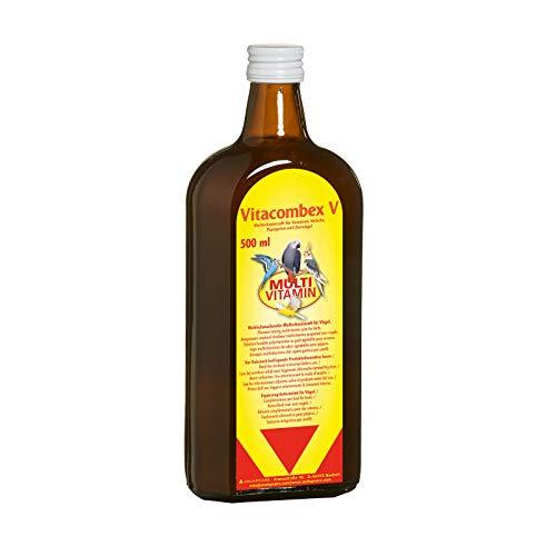 Vitacombex V  - Multivitaminsaft für Kanarien, Sittiche, Papageien und Ziervögel  / optimale Vitaminversorgung