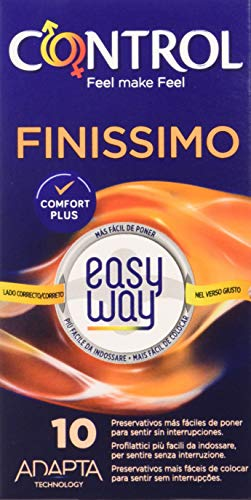 CONTROL Finissimo Easy Way Preservativos - Pack de 10 preservativos