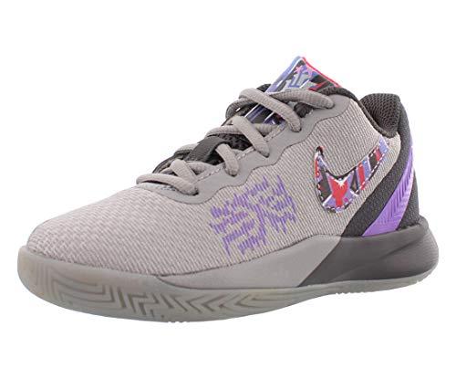 Nike KYRIE FLYTRAP 2 (Atmosphere Grey/Bright Crimson) Boys Basketball Shoes 3