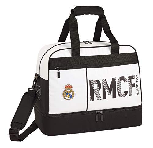 Real Madrid CF Bolsa de deporte, viaje con zapatillero