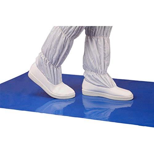Usmato Antibakterielle Bodenmatte, Hochklebende staubfreie Matte, Tearable Cleaning Mat, ideal für das Home Office (45 * 60 cm)