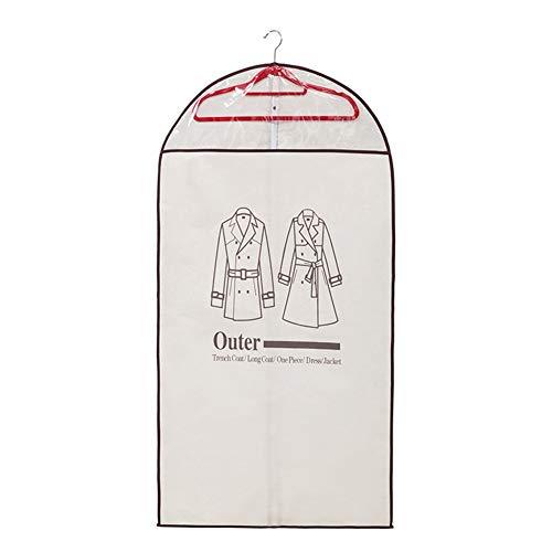 Schraube Funda protectora contra el polvo de la ropa con estampado de fieltro, funda de almacenamiento