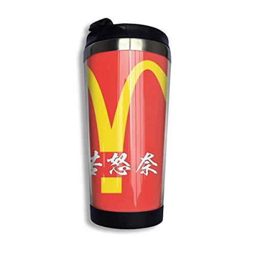 Yuanmeiju Ateji McDonald's Edelstahl-Thermobecher, 383 ml