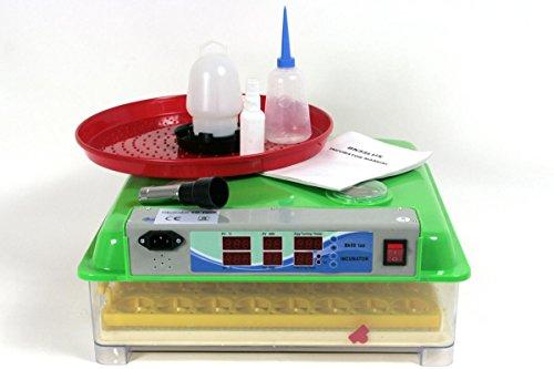 Inkubator VOLLAUTOMATISCH BK55Lux + Zubehör, 55 Eier, Brutautomat, Brutmaschine, sehr leise