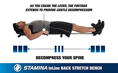 Stamina in Line Back Stretch Bench