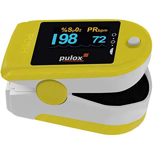 Pulsoximeter Pulox PO-200 Solo Gelb