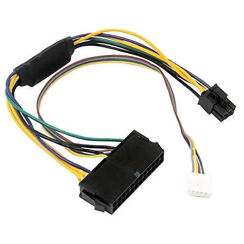 FLOX 24-Pin auf 6-Pin Power Adapter Kabel Modular Netzteil Kabel für HP Elite 8100 8200 8300 800G1-30 cm
