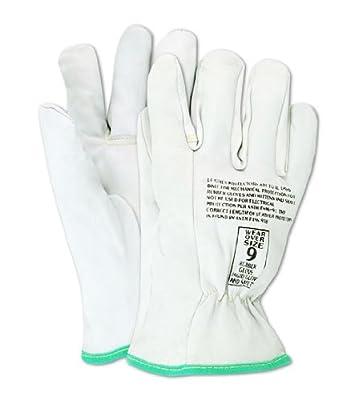 Magid PowerMaster Goatskin Leather Low Voltage Linesman Protector Glove