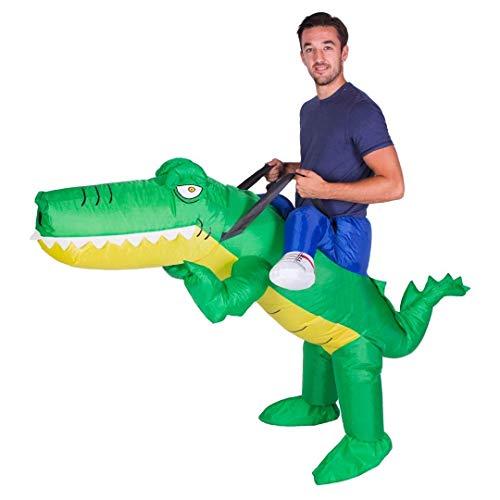 Bodysocks® Aufblasbares Krokodil Kostüm für Erwachsene