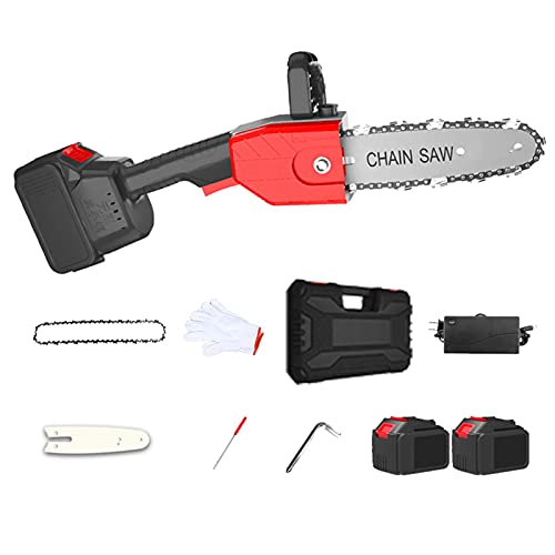 H-BEI Handheld Cordless Chainsaw, 10...