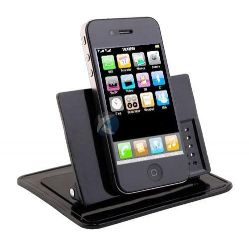 Xenda Universal Rotating Dash Smart Stand Car Mount Dashboard Holder with Sticky Mats for HTC One (All carriers including AT&T, Sprint, T-Mobile and Unlocked)