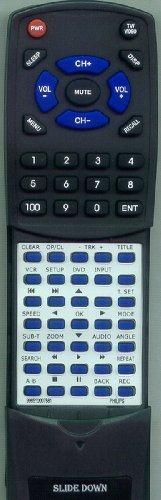 Replacement Remote Control for Philips NA727UD, DVP3345VB, DVP3345VF7, DVP3345V, DVP3345
