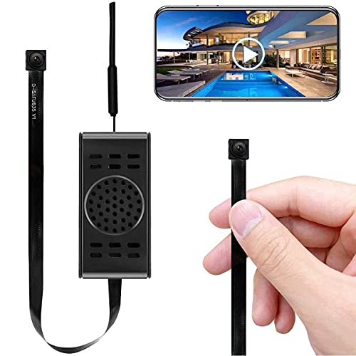Spy Camera Wifi Hidden Camera Small HD Wireless Home Security Surveillance Mini Cameras Covert Tiny Nanny Cam Watch Real-time Video Remotely