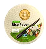 Four Elephants Premium Spring Roll Rice Paper Round Non-GMO Verified 22 CM (3)