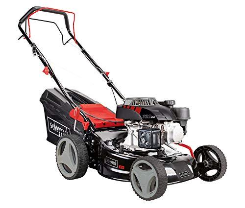 scheppach Benzin Rasenmäher MS132-42 - 3.4PS | Radantrieb | 420mm Schnittbreite | 7-fache Schnitthöhenverstellung