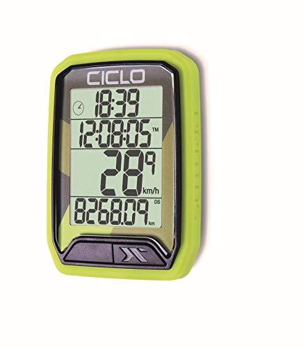 CICLO PROTOS 113 Vert Ordinateur de vélo Unisex-Adult, Standard