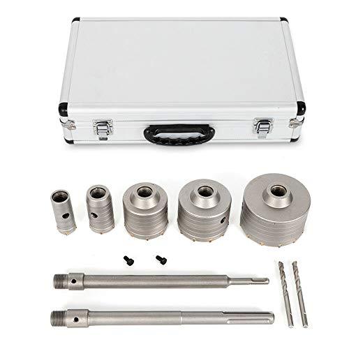 Corona de perforación para hormigón, adaptador SDS, diámetro 30/40/68/80/100 mm, juego de coronas de perforación