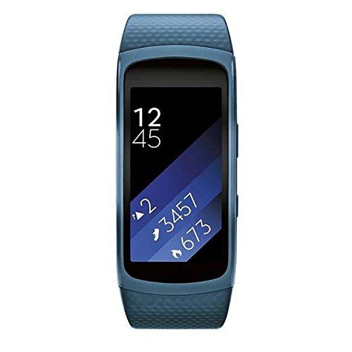 SAMSUNG SM de r3600z baxeo Smartwatch Gear Fit 2, Large Azul