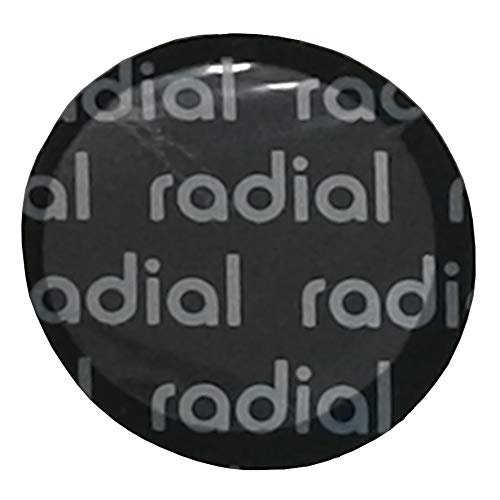 HARZOLE UP-R41G Radial and Bias-Ply tire Repair Patch Black Round1-5/8¢41mm 50pc/Bag (OV-1022) -  ANSHANZHONGJING TRADE CO.,LTD