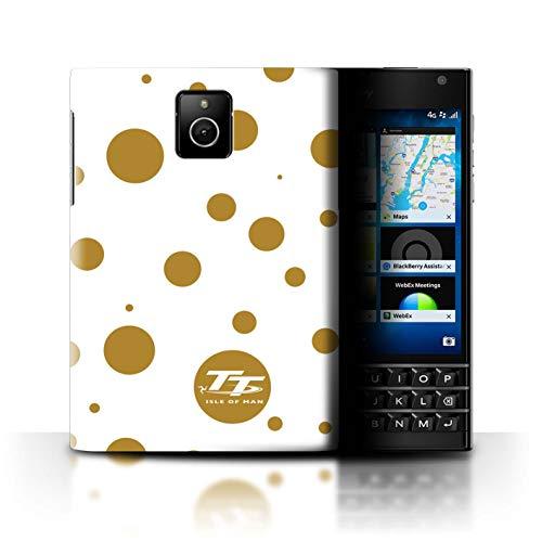 Isle of Man TT Offiziell Hülle/Hülle für BlackBerry Passport/Polka Dot Benzin Muster/Eleganz Kollektion