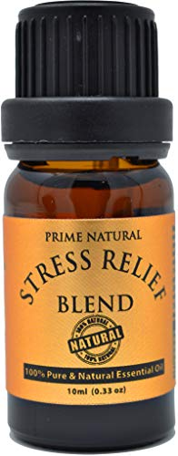Stress Relief Essential Oil Blend 10ml - Natural Pure...