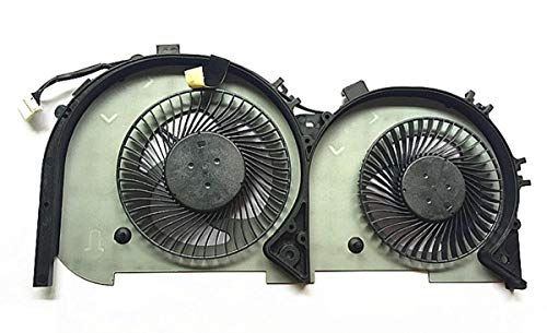 HuiHan Replacement for Lenovo Ideapad 700-15isk 700-17isk Laptop CPU Cooling Fan