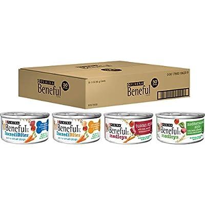 Purina Beneful Wet Dog Food Variety Pack, Incredibites & Medleys - (30) 3 oz. Cans