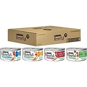 Purina Beneful Wet Dog Food Variety Pack, Incredibites & Medleys – (30) 3 oz. Cans
