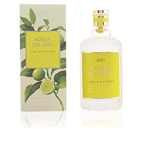 4711 Acqua Colonia Lime and Nutmeg unisex, Eau de Cologne, Vaporisateur/Spray 50 ml, 1er Pack (1 x 0.168 kg)